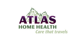 Atlas Home Health logo w/ Tagline