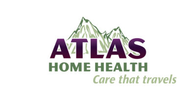 Atlas Home Health logo w/ Tagline