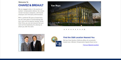 Chavezbreault.com Homepage