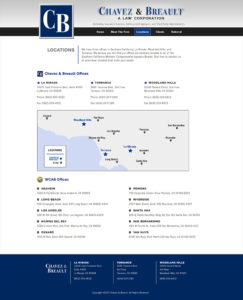 Chavezbreault.com Locations page