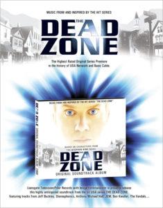 Dead Zone Digipak Onesheet design (front side)