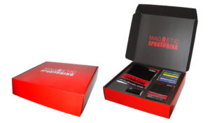 Magnetic Sponsoring Box Set design