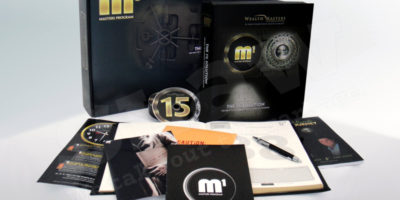 Wealth Masters m1 Box Set design