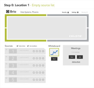Brio Website User Flow: Step 0 design