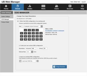 Phoenix Web Manager -Global Settings