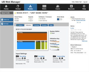 Phoenix Web Manager - Nodes Utlization