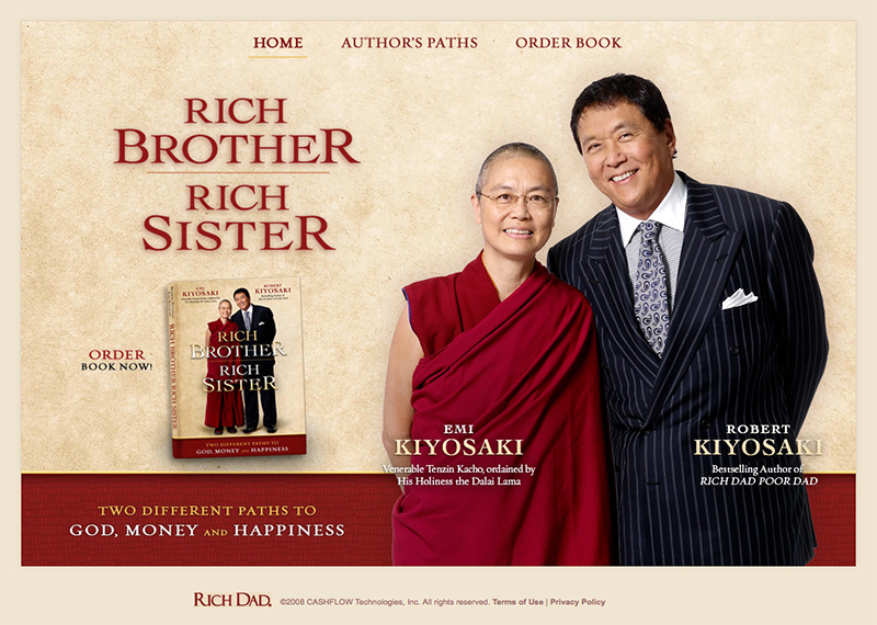 Rich Brother Rich Sister Website