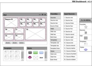 Phoenix desktop client - dashboard wireframes