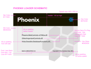 Phoenix software loader style schematic