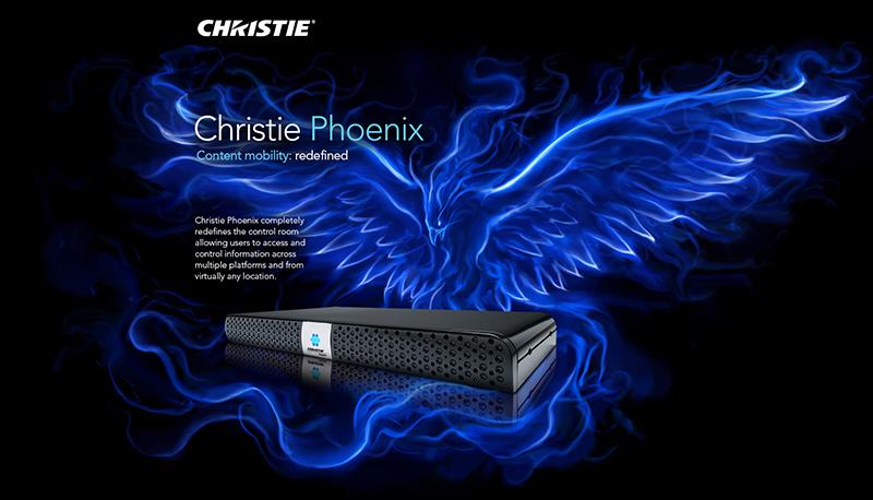 Phoenix website landing page