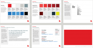 Attainia Style Guide, several more pages